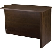 Bestar - Table de retour de la collection Prestige +, chocolat