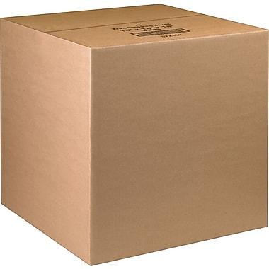 Boîtes en carton ondulé ICONEX/NCR kraft brun, 18 x 18 x 18 po, paq./10 (69888)