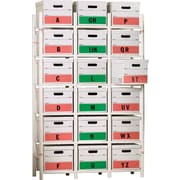 Bin Warehouse Storage System, 18 File Box Model