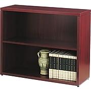 "HON 10500 Series Bookcase, 2 Shelves, 36""W, Mahogany Finish NEXTExpress NEXT2019"