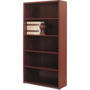 "HON 10500 Series Bookcase, 5 Shelves, 36""W, Mahogany Finish (HON105535NN) NEXT2018 NEXTExpress"