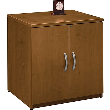 Bush® Westfield Collection Storage Cabinet, Warm Oak