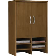"Bush® Westfield Collection 30"" 2-Door Hutch, Cafe Oak"
