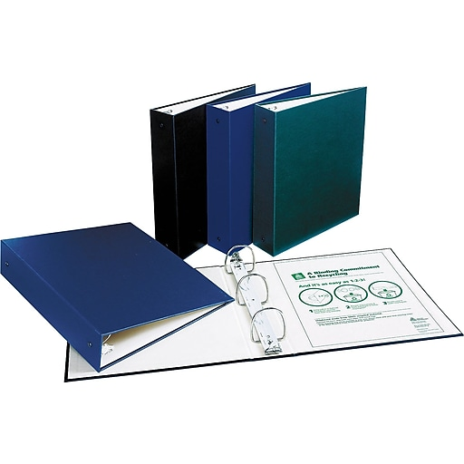 "Shop Staples For 2"" Avery® Eco-Recyclable Binder, Green"