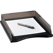 Rolodex™ Distinctions Punched Metal & Wood Stackable Letter-size Tray