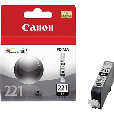 Canon® CLI-221 Black Ink Tank (2946B001)