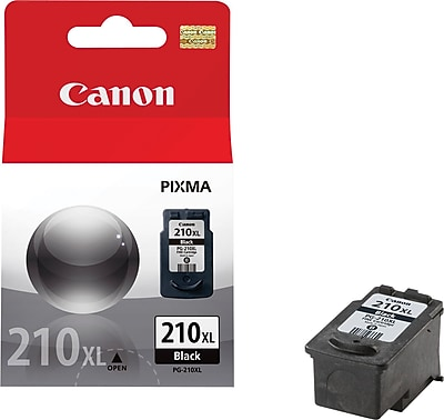 Canon PG-210XL Black Ink Cartridge (2973B001), High Yield 757289