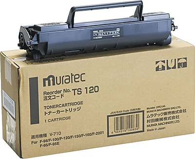 Murata TS-120 Black Toner Cartridge
