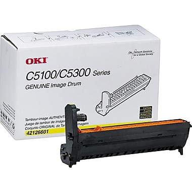 OKI Drum Cartridge, Yellow (42126601)
