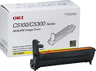 Okidata 42126601 Yellow Drum Cartridge