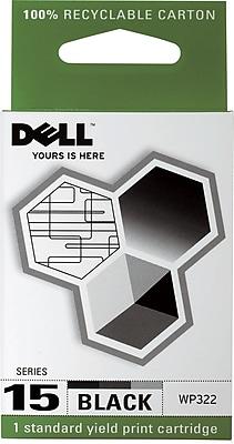 Dell Series 15 Black Ink Cartridge (WP322)