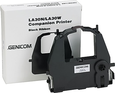 Digital® LA30RKA Nylon Ribbon for LA30N/LA30W/DL3700/DL3800/DL9300/DL9400/960/965, Black