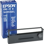 Epson ERC-27B Nylon Cash Register Ribbon, Black (ERC27B)