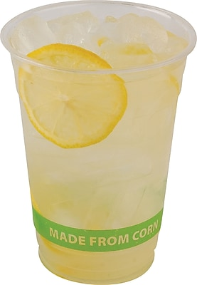 Eco-Products® Corn Plastic Cold Cups, 16 oz., 50/Pack