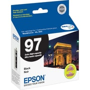 Epson® 97 (T097120-S) Black Ink Cartridge