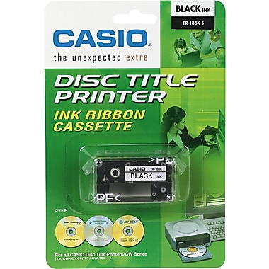 Casio TR18BK Black Cartridge