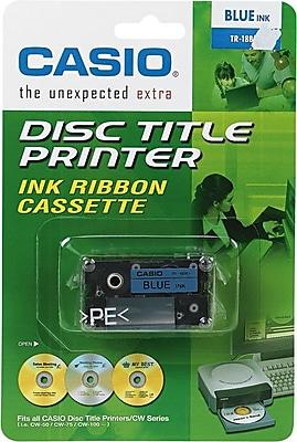 Casio TR18SRS Blue Cartridge