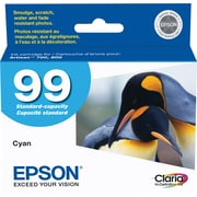 Epson® 99 (T099220) Cyan Ink Cartridge