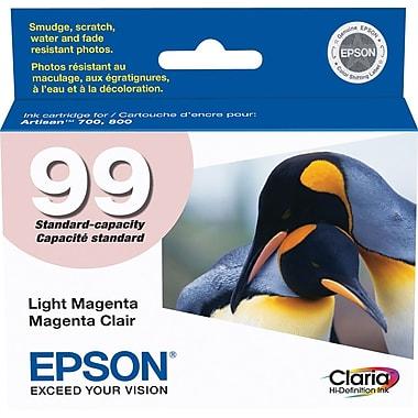 Epson® – Cartouche d'encre magenta (peu foncé) T099620, 99