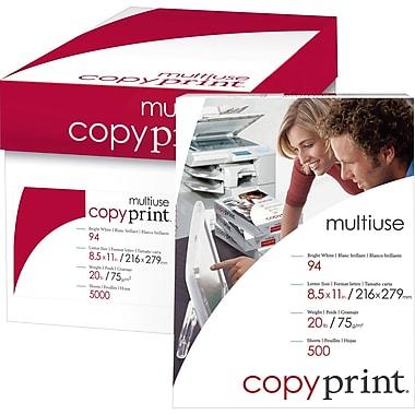 Domtar – Papier multiusages CopyPrint, 20 lb, lettre, 8 1/2 po x 11 po, bte