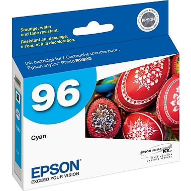 Epson® 96 (T096220) 96 Ink Cartridge, Cyan