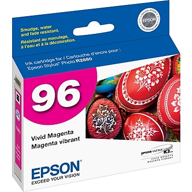 Epson® 96 (T096320) 96 Ink Cartridge, Magenta
