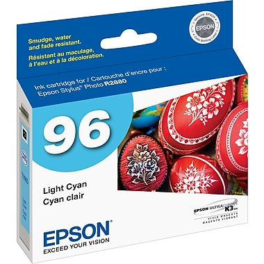 Epson® 96 (T096520) 96 Ink Cartridge, Light Cyan