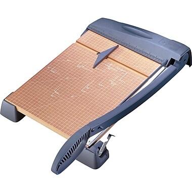 X-ACTO™ - Coupe-papier robuste, base en bois, 18 po