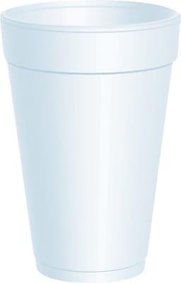 Dart® Insulated Foam Hot/Cold Cups, 10 oz., 1,000/Case