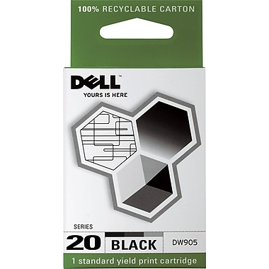Dell Series 20 Black Ink Cartridge (DW905)