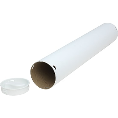 Twist-n-Pull ™ Mail Tubes, White