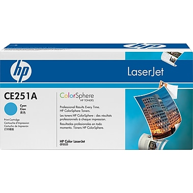 HP 504A (CE251A) Cyan Original LaserJet Toner Cartridge