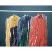 "Polyethylene Garment Bags, 21"" x 4"" x 38"", 510/Roll"