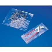 "4-Mil Polyethylene Bags, 3"" x 8"", 1,000/Case"