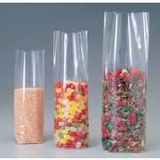"1.4-Mil Flat-Bottom Poly Bags, 3-7/8"" x 2-1/2"" x 12-1/2"", 100/Case"