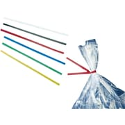"Staples 05"" Vinyl Twist Ties, Blue, 2000/Box (2151470200)"