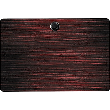 Alera Valencia Series 3' Woodgrain Laminate Training Table Top, Mahogany