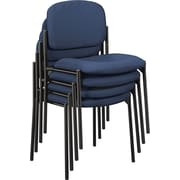 basyx by HON® VL606 Stacking Guest Chair, Navy (BSXVL606VA90) NEXT2017