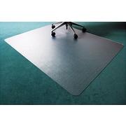 Floortex Polycarbonate Chairmat for Deep-Pile Carpets, Rectangular