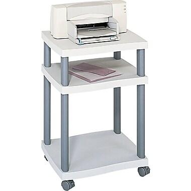 Safco® Wave Design Mobile Desk-Side or Under Desk Printer Stand