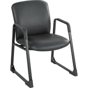 Safco® Uber Big and Tall Vinyl Guest Chair, Black