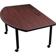 Balt Radius Design Modular Conference Table, Mahogany