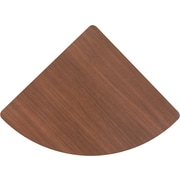 Bush® Cubix Collection Corner Connector, Sienna Walnut & Bronze