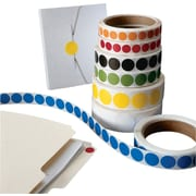 """Circle Inventory Labels, 1/2"""""""