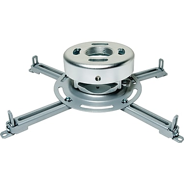 Peerless PRS-UNV-S 25lb Capacity Universal Ceiling Projector Mount (Silver)