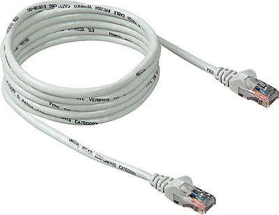 Belkin 14' RJ45 CAT5e Patch Cable, White