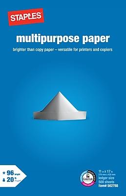 Staples Multipurpose Paper, 11