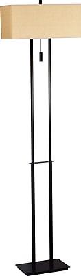 Kenroy Home Emilio Incandescent/CFL Floor Lamp, Bronze
