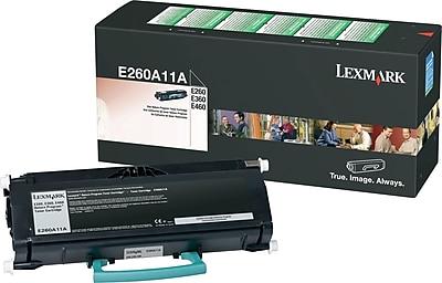 Lexmark E260A11A Black Return Program Toner Cartridge