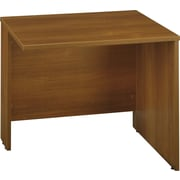 Bush Business Furniture Westfield 36W Return Bridge, Warm Oak (WC67518)